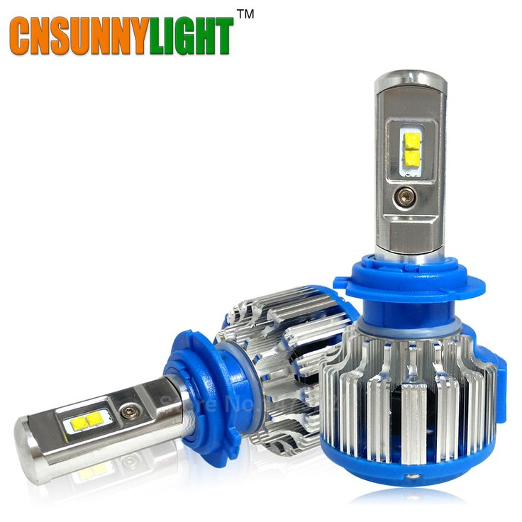 Super Bright Car Headlights H7 LED H8/H11 HB3/9005 HB4/9006 H1 70W 7000lm Auto Front Bulb Automobile Headlamp 6000K Car Lighting ** Click the image for detailed description