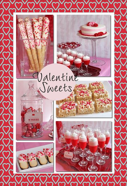 Need some fun ideas for your Valentine's Day Party? We've found a lot of sweet ideas here