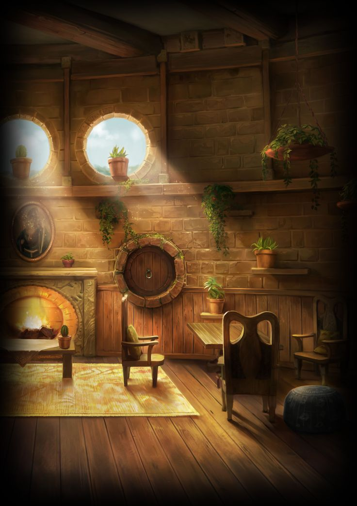 Love it! The Hufflepuff Dormitories & Common room has never been seen by outsiders, is the only house with repelling devices accessed through a pile of large barrels, stacked in a shadowy stone recess on a right-hand side corridor near the kitchens. The view is of dandelions & rippling grass.