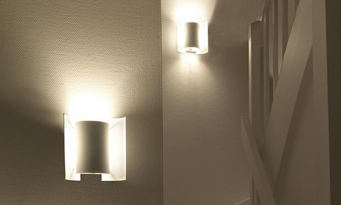 Butterfly lampe hvit