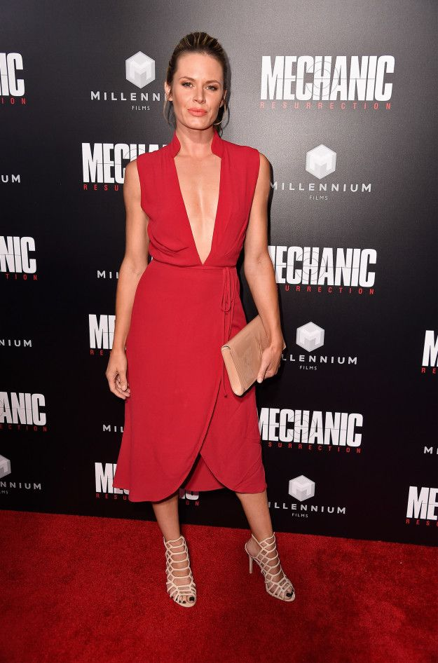 Lauren Shaw At The Premiere Of Mechanic: Resurrection