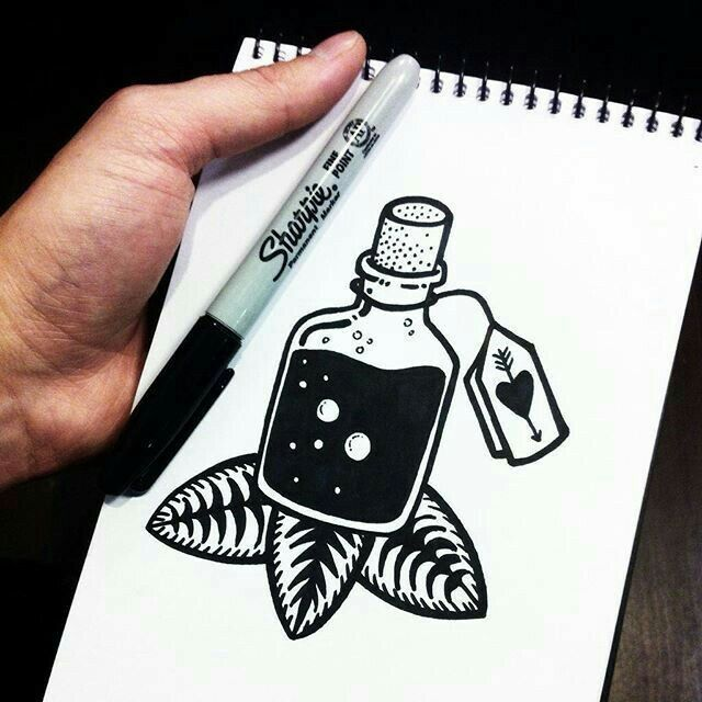 Best 25 hipster drawings ideas on pinterest for Cool things to draw with markers