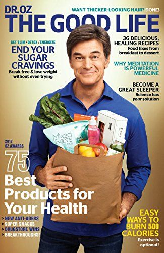 Get a healthy dose of fun with Dr. Oz The Good Life Magazine! Whether you want to cook easy, healthy meals, lose five pounds, sleep eight hours, or simply squeeze more fun out of every day, Dr. Oz, The Good Life offers trusted advice and motivation to help you achieve your goals!  👍 #Mind #Magazines #Health