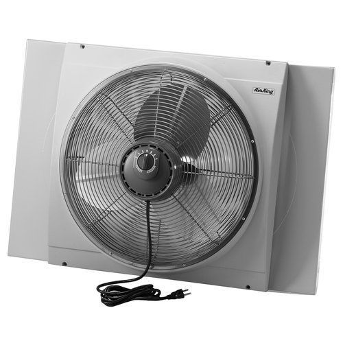 Air King 9166 Window Fan Is Reversible Meaning It Can Be