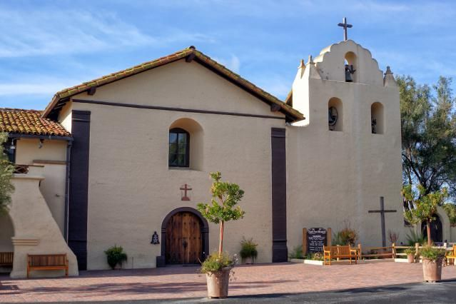 Santa Ines Mission - history, historical and current photographs, resources for Mission Santa Inez