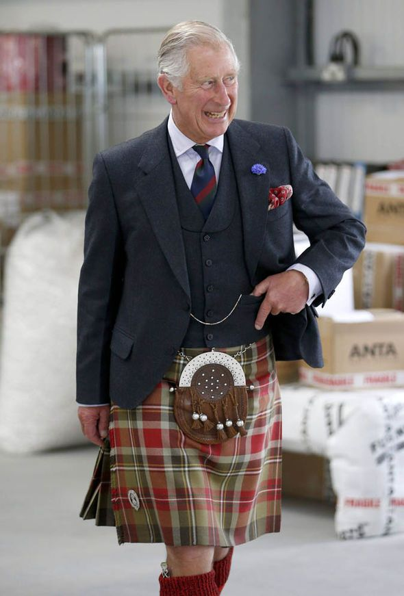 Prince Charles's paintings on show in Scottish exhibition