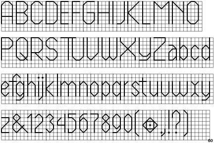 Cross Stitch Font Backstitch Fontscape home x26gt; simulation x26gt; needlework x26gt; sans-serif