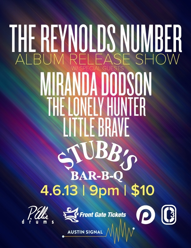 The Reynolds Number with Miranda Dodson, The Lonely Hunter, Little Brave