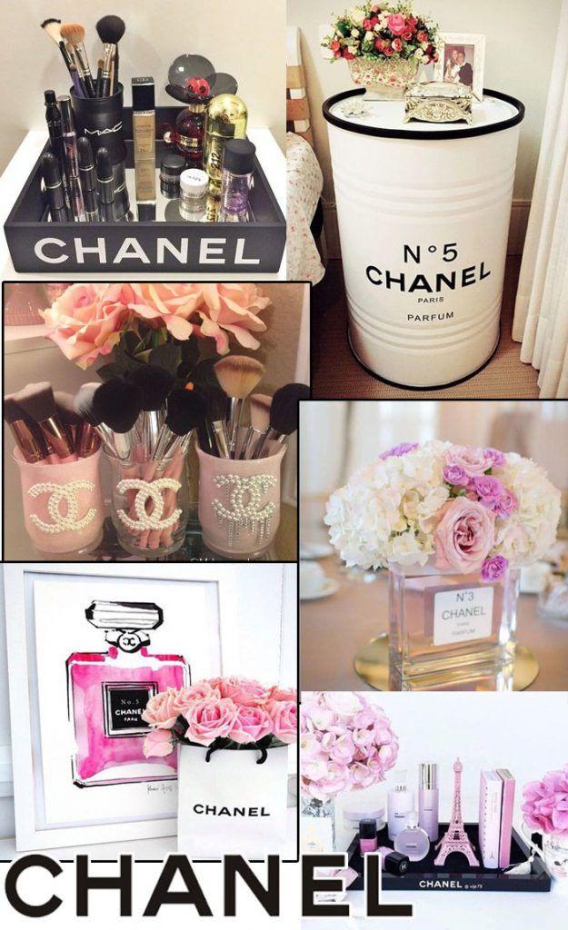 Faça você mesmo - Como fazer decoração inspirada na marca francesa Chanel