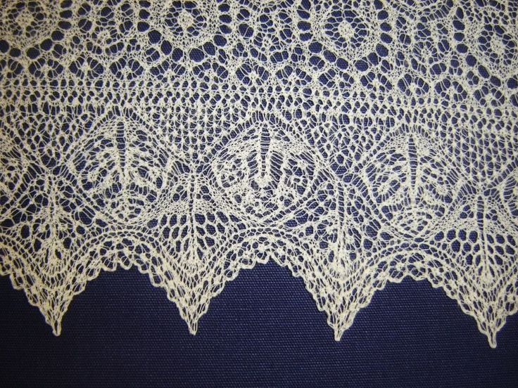 Shetland Lace - Miss Hamilton's Gift.  What an incredible lace border!