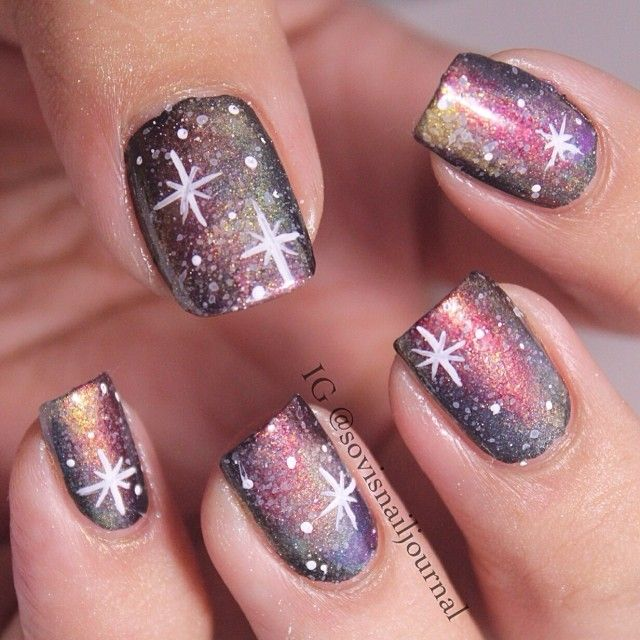 Instagram photo by sovisnailjournal #nail #nails #nailart