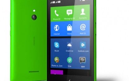 Nokia X Smartphones Dual SIM card