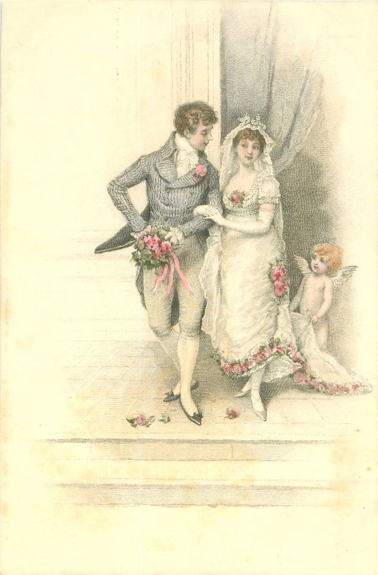 Свадьба старинные открытки, дню летучих