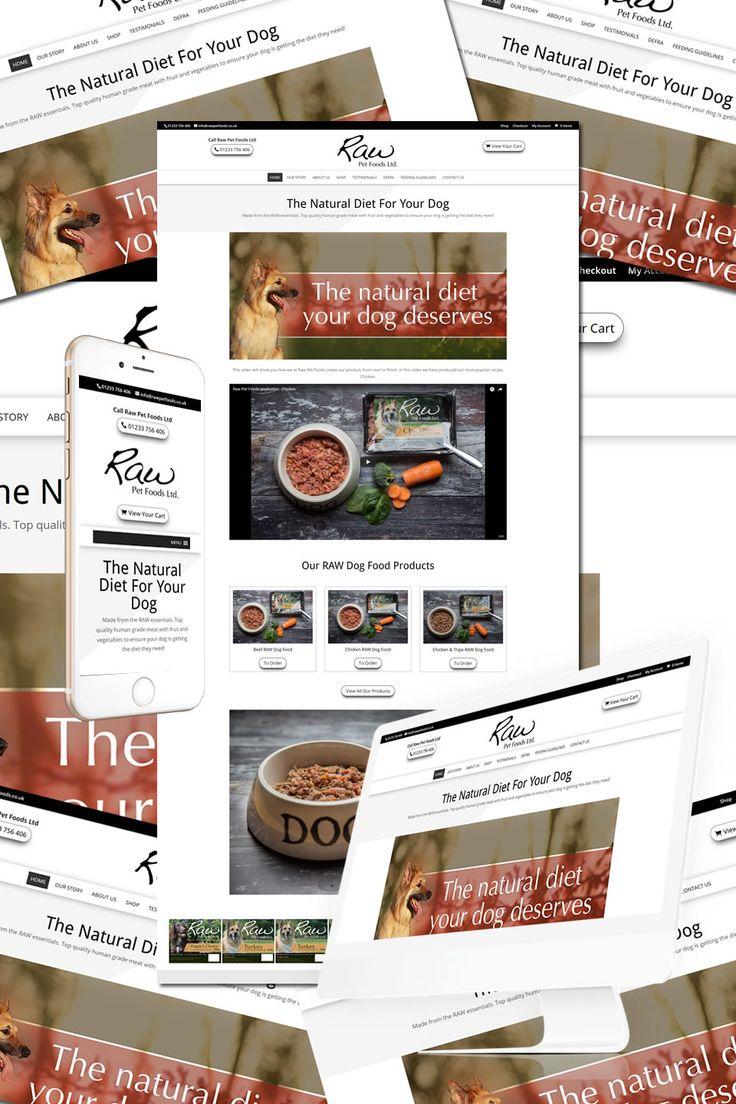 The Raw Pet Foods in Ashford, Kent https://hostcat.co.uk/project/raw-pet-foods/