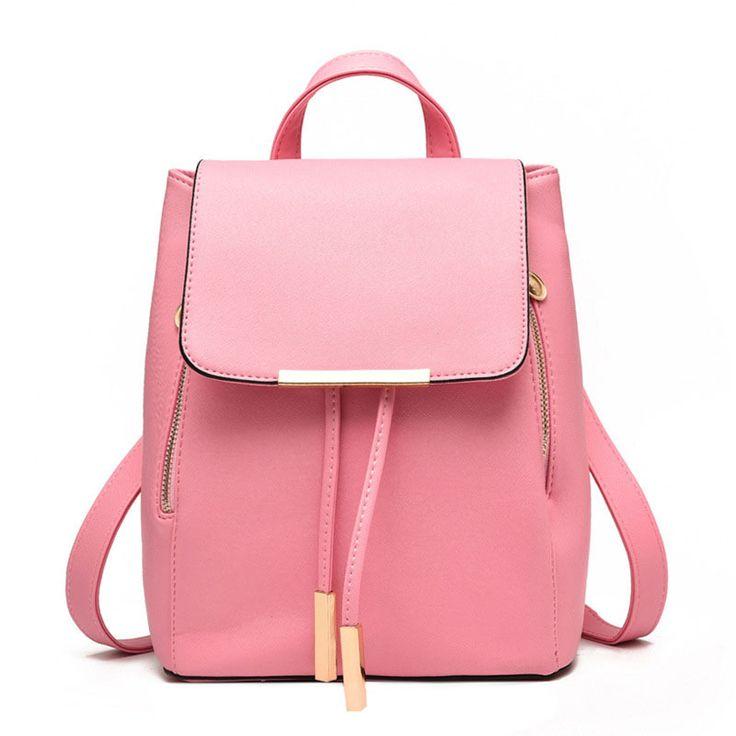 Купить товар2015 женщины рюкзак школьные сумки для подростков девочек bolsa feminina mochila кожаные школьница рюкзак mochilas pu кожаная сумка в категории Рюкзакина AliExpress.                     Тип                         Рюкзак                         Номер модели                   &nbs