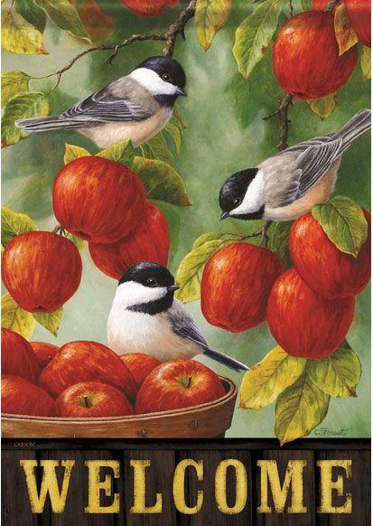 Harvest Apple Chickadee