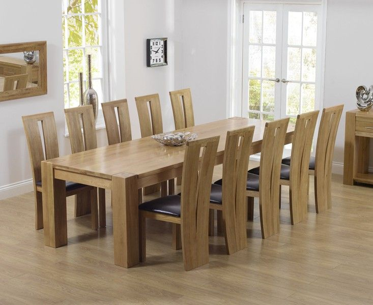Best 25 Solid Oak Dining Table Ideas On Pinterest  Dining Table Captivating Dining Room Oak Furniture Decorating Inspiration