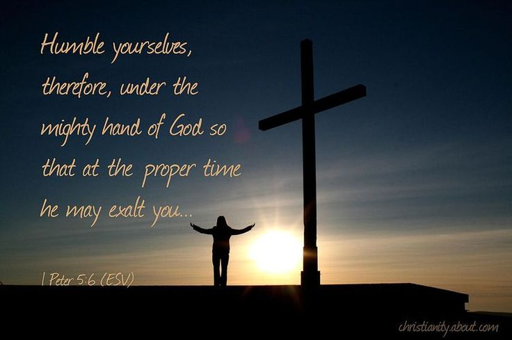 Verse of the Day: Humbling Yourself - 1 Peter 5:6