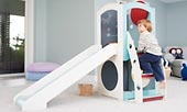 Indoor playset by Cedarworks....Oh I can already hear her laughing :)