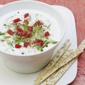 Soupe froide de concombre - une recette Soupe - Cuisine