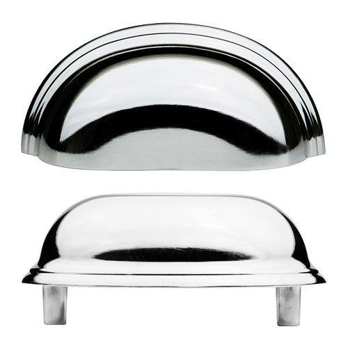 FÅGLEBODA Handle - chrome-plated - IKEA