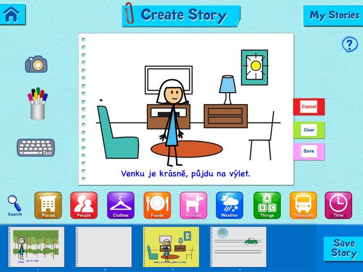 Aplikace pro storytelling