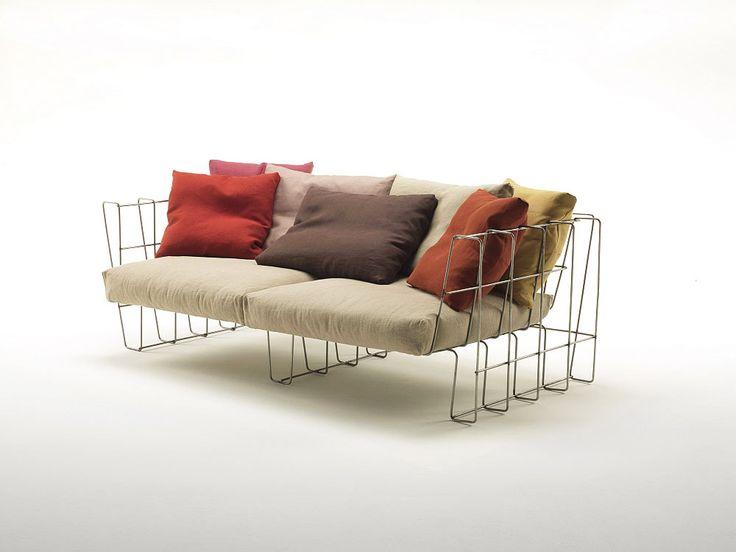 Top 10: Arik Levy's feeling for design | Hoop Sofa, Living Divani, 2009 | @livingdivani