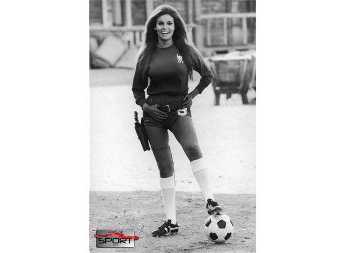 Raquel Welch In Chelsea Football Club