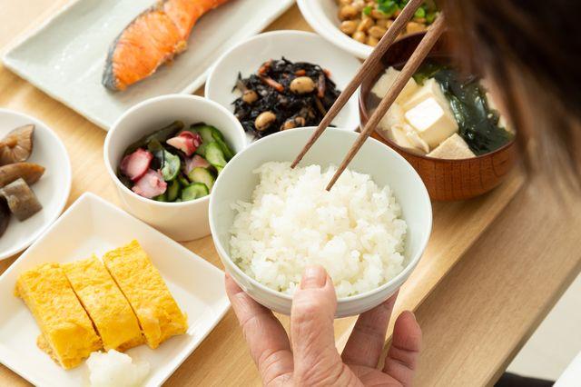 大事なのは健康寿命 朝ごはんで人生に大きな差がつく 長生き朝ごはん 食べ物のアイデア 朝ごはん 栄養素