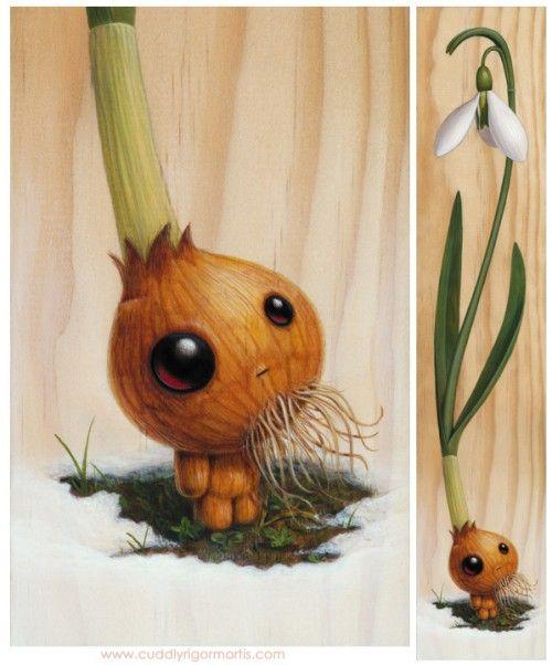 master galanthus plant creature