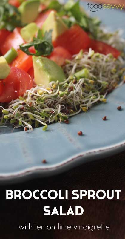 Broccoli Sprout Salad | Food Savvy