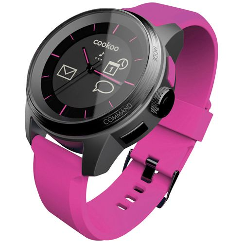 COOKOO Bluetooth Smartwatch (CKW-KP002-01) - Pink Baby is available online and is going to help me get through those long days! Love it!! #SetMeUpBBY   - Online Only