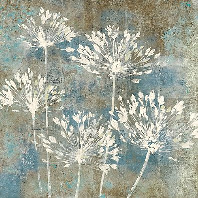 Modern Flowers Canvas Wall Art