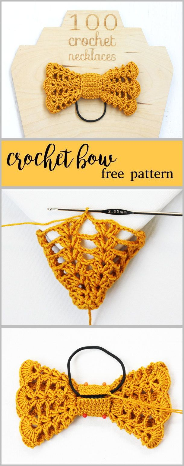 Find This Pin And More On 100 Crochet Necklaces  Patterns, Tutorials, Diy