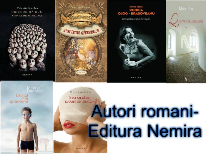 autori romani editura Nemira