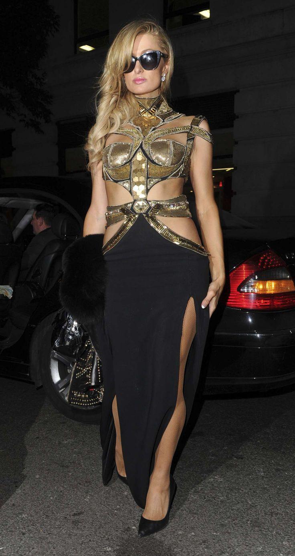 Paris Hilton at The Mayfair Hotel in London January 21, 2017