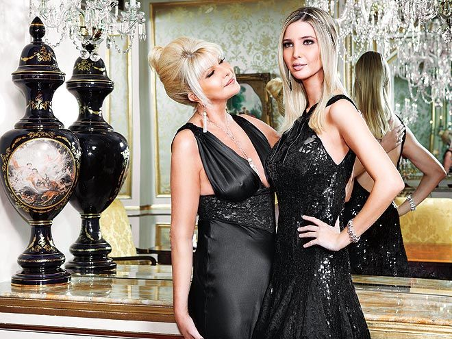 THE DINING ROOM photo | Ivana Trump, Ivanka Trump