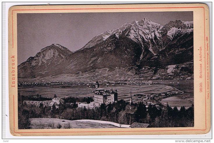 Innsbruck - Schloss Ambras - Verlag v. Rommler & Jonas K.S. Hof-Photogr - Dresden 1893 - Delcampe.net