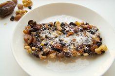 Recept: Dadeltaart met noten (suikervrij en hoeft niet in de oven)