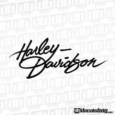 Custom HarleyDavidson Tank Decals Stickers Fat Boy Hd Harley - Harley davidson custom vinyl stickers