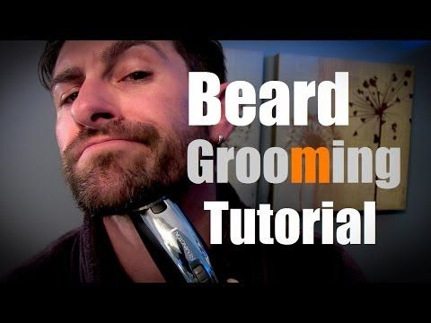 beard grooming tutorial how to grow groom and trim your. Black Bedroom Furniture Sets. Home Design Ideas