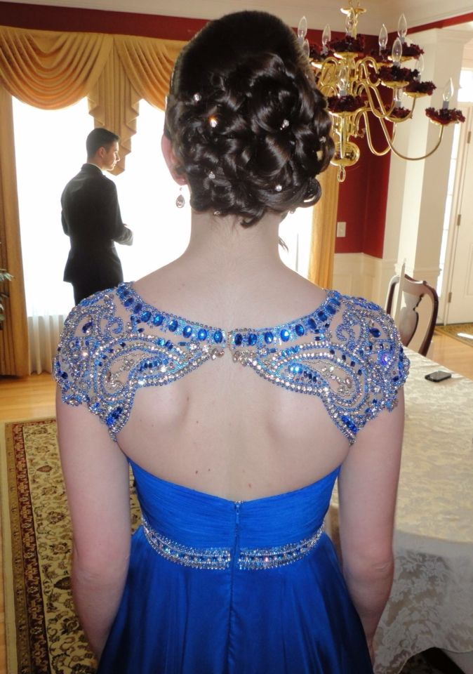 Formal up-do #prom2015
