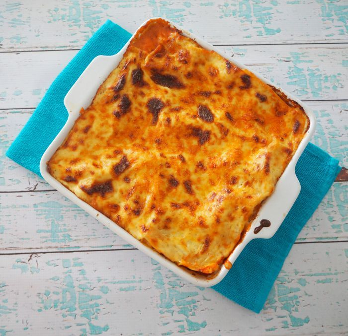 This Thermomix Lasagna recipe is practically as staple in our house and thanks to it's chunky meat sauce filling, I think it will become a favourite with
