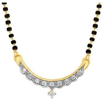 marigold #diamond #gold #mangalsutra