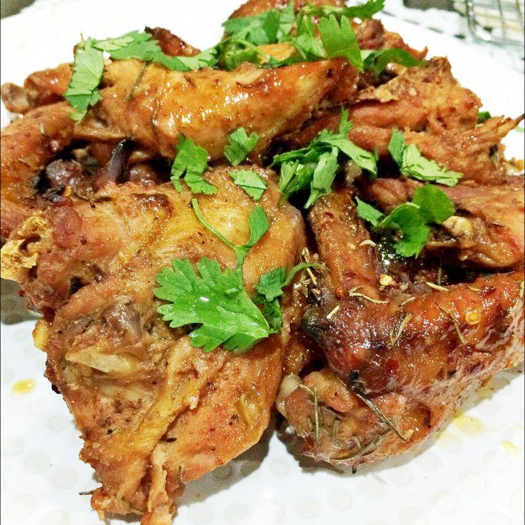 Homemade Honey Roasted Chicken   #homemade #limut