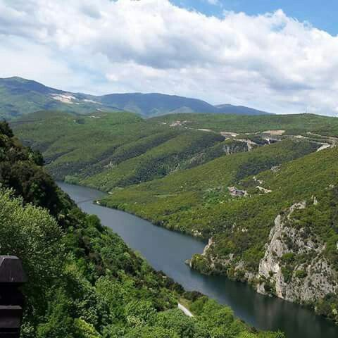 Aliakmonas river,Veria Greece