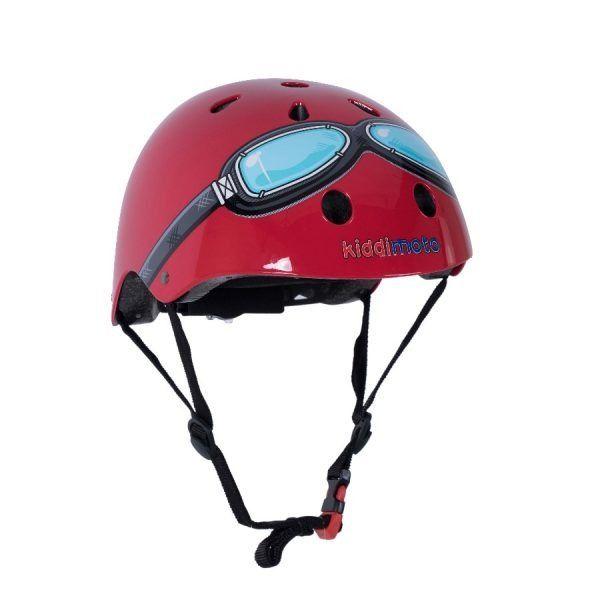 Red Goggle Bicycle Helmet Bicycle Helmet Kids Bicycle Bicycle