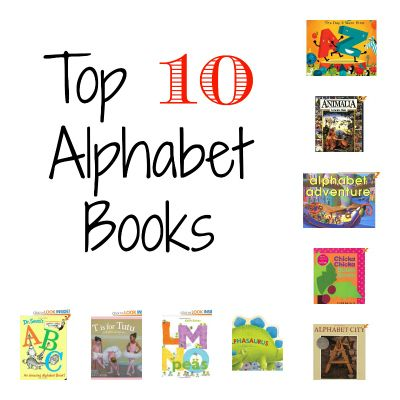 A kindergarten teacher's 10 favorite alphabet books and why they're so important.