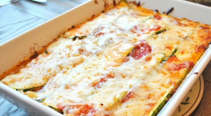 Zucchini Lasagna - Weight Watchers Recipes