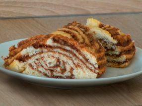 Orechový pletený koláč